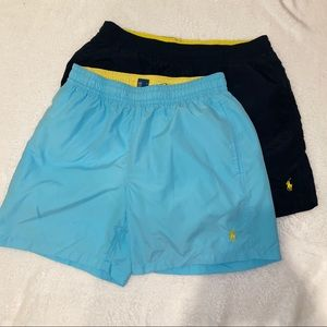 Polo Ralph Lauren Swim Trunks - 2 Pair